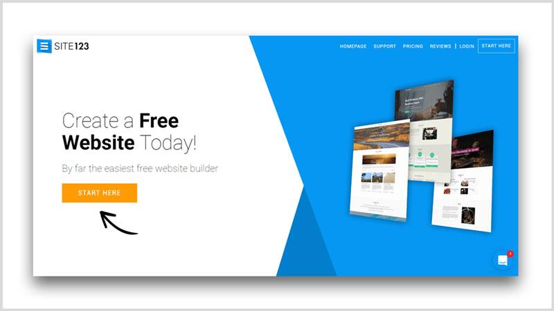 pagina web gratis constructor im creator