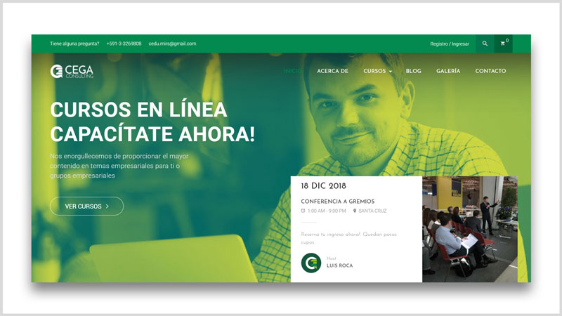 como vender cursos en linea wordpress