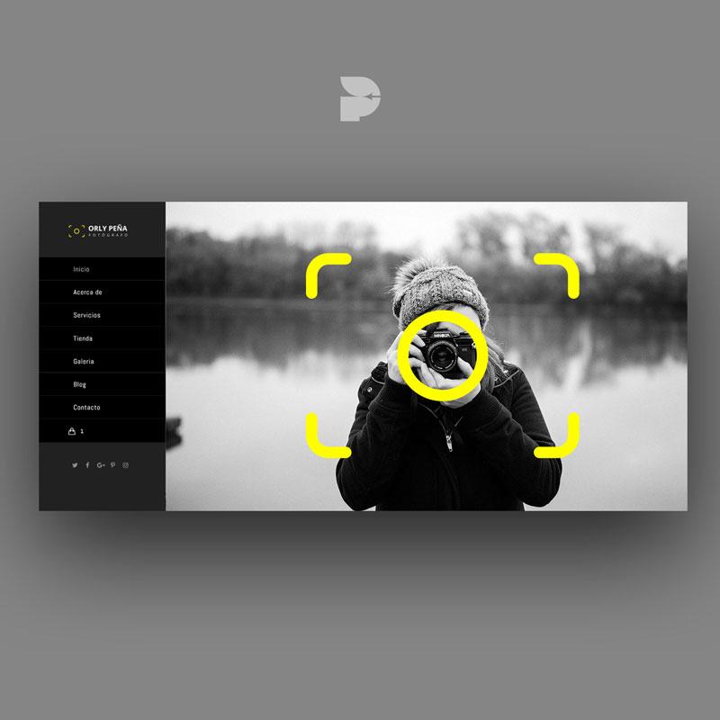 Diseño páginas web para fotógrafos
