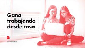 Trabajar desde casa por internet programa de afiliados