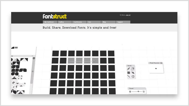 Los 10 mejores sitios para descargar fuentes y tipografías gratis fontstruct