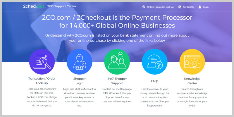 2Checkout experiencia pasarela de pago ecommerce soporte
