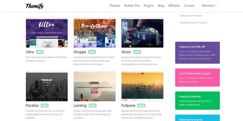 Mejores-sitios-para-comprar-temas-WordPress-themify