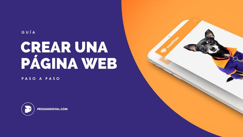 como crear una pagina web paso a paso hosting dominio propio