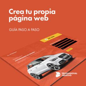 banner crear pagina web gratis desde cero