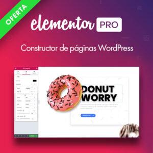 elementor pro constructor-de paginas web wordpress