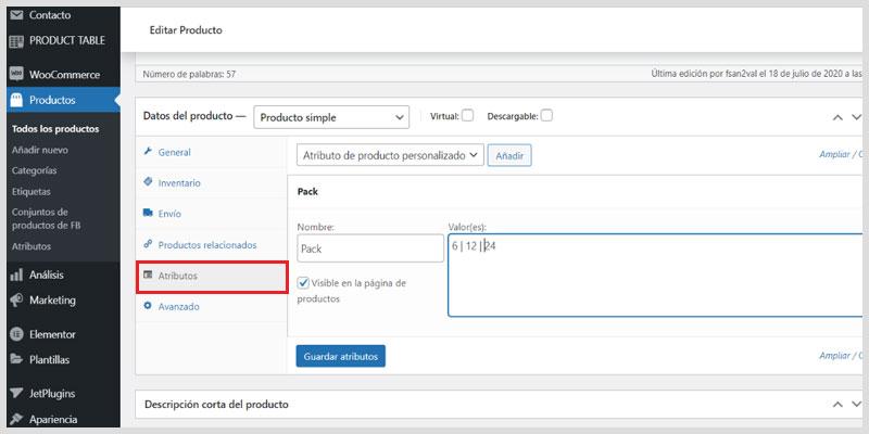 crear-producto-simple-en-Woocommerce-atributos
