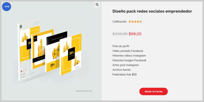 Crear un producto descargable en WooCommerce prosandoval