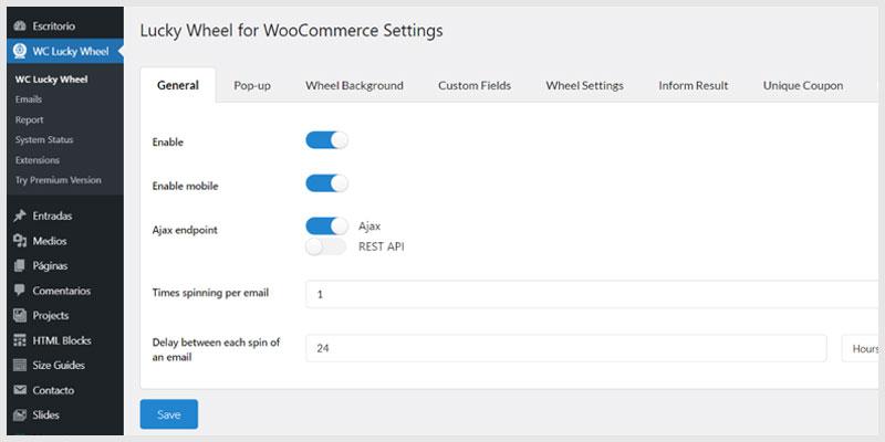 instalar-una-rueda-de-la-fortuna-en-WooCommerce-configurar-plugin-Lucky-Wheel