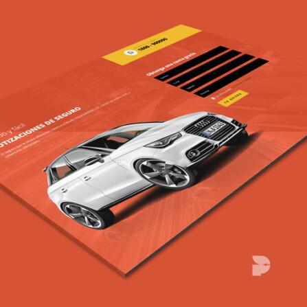 Diseño página web para aseguradoras Autoseguro