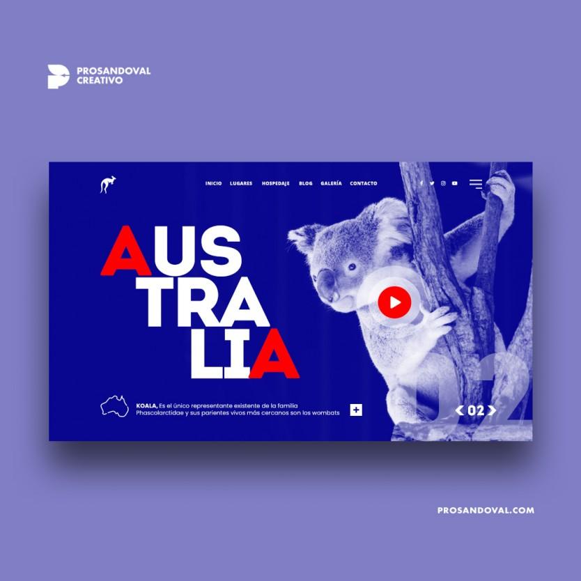 Diseño página web de destinos turísticos
