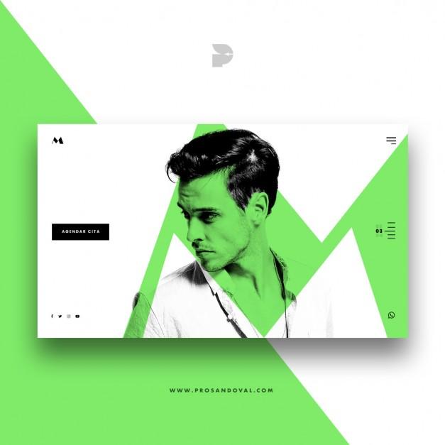 Diseño página web para barbería