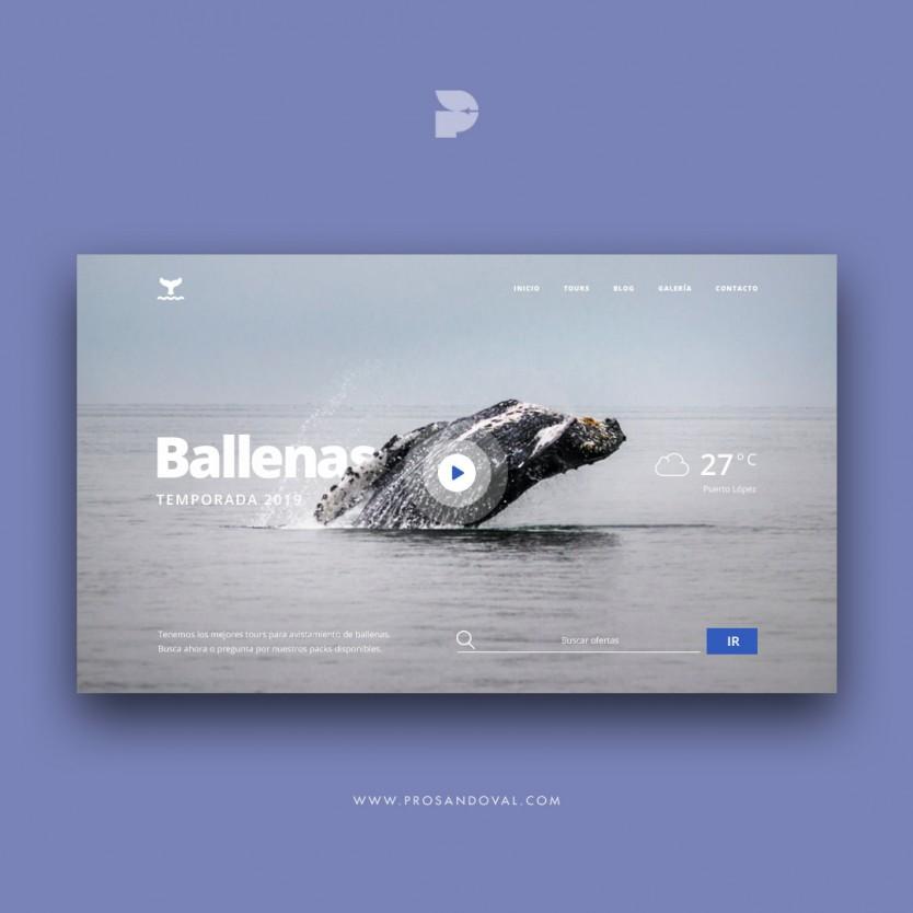 Diseño página web para excursiones