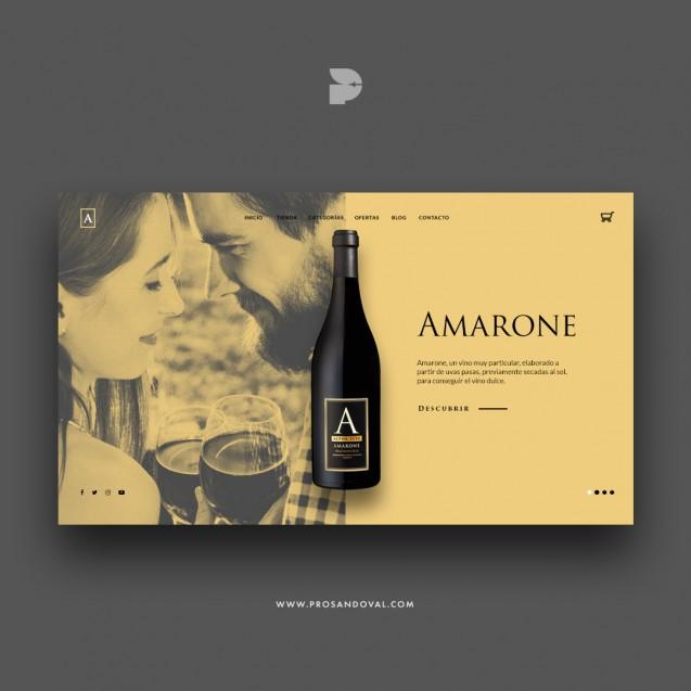 Diseño página web para vino ecuador