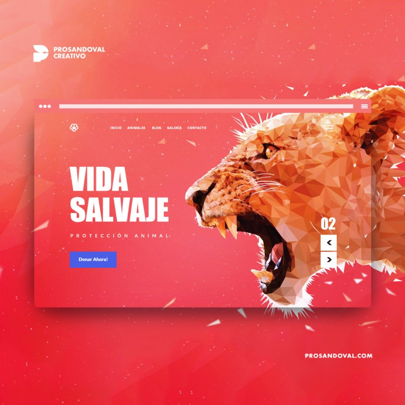 Diseño página web para zoológicos