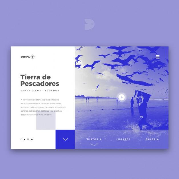 Diseño página web para blog profesional Sumpa