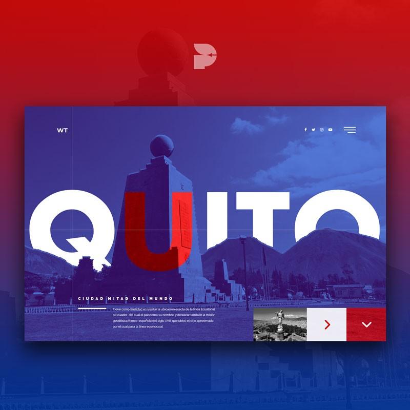 Diseño página web para turismo WT Travel