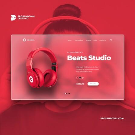 Diseño tienda online de electrónicos