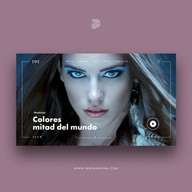 Diseño tienda online de fotografía