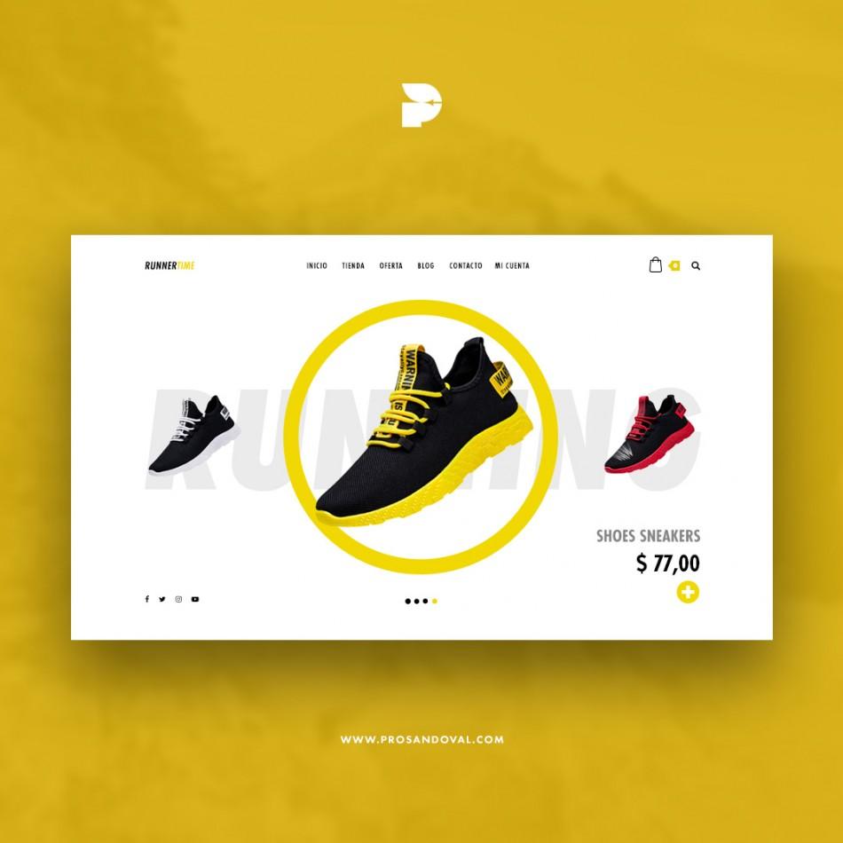 Diseño tienda online para zapaterías ecuador