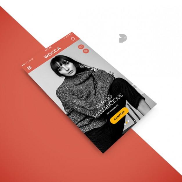 Diseño tienda online de ropa de moda Wocca