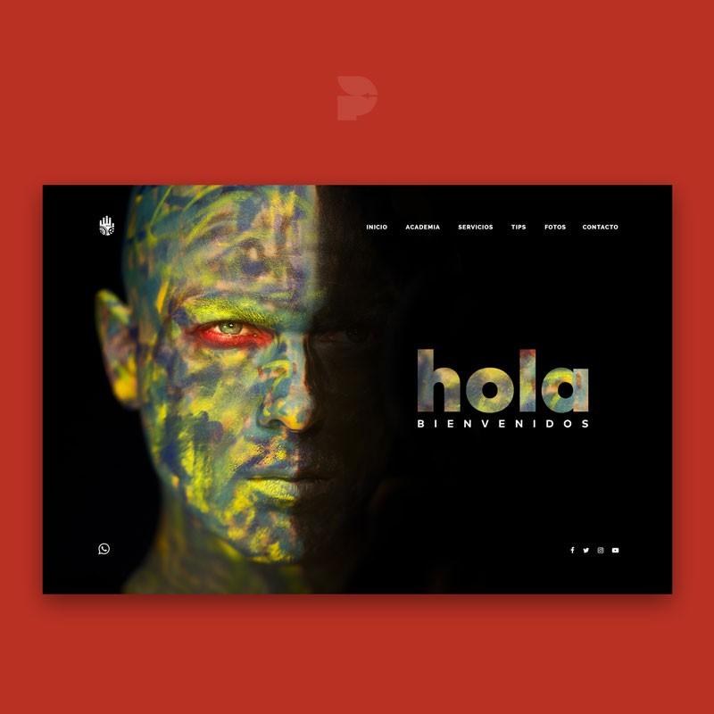 Diseño página web para pintores Paintmaster