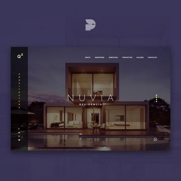 Diseño página web para construcción Q2