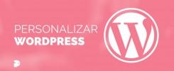 como personalizar WordPress plantillas