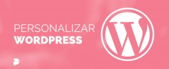 como personalizar WordPress plantillas