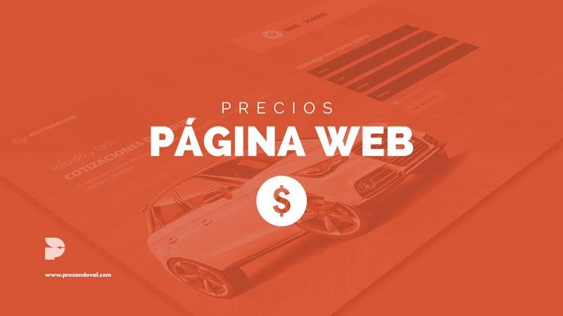 cuánto cuesta una pagina web ecuador latinoamérica