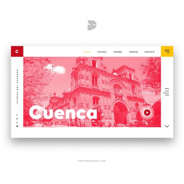 Diseño página web para tours Cuenca Tour