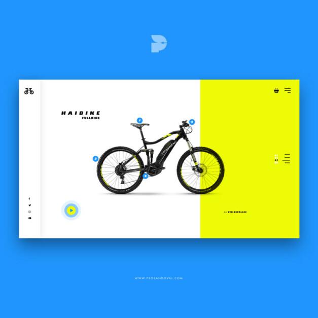Diseño tienda online de bicicletas Bikelta store