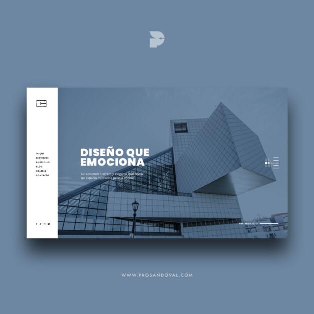 Diseño página web para Arquitectos metrum ecuador