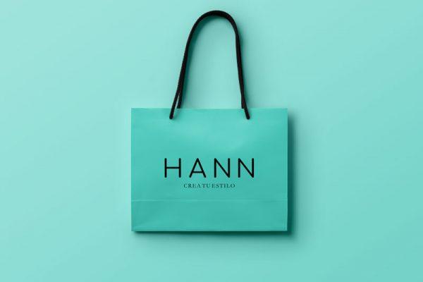 Diseno tienda online hann store branding make up