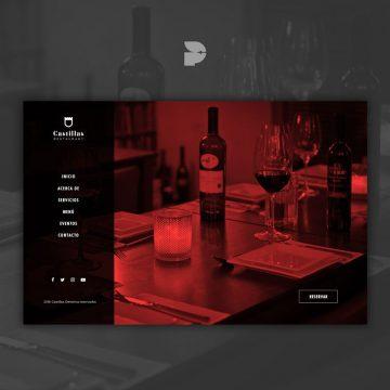 diseño página web para restaurant 5 estrellas caso estudio