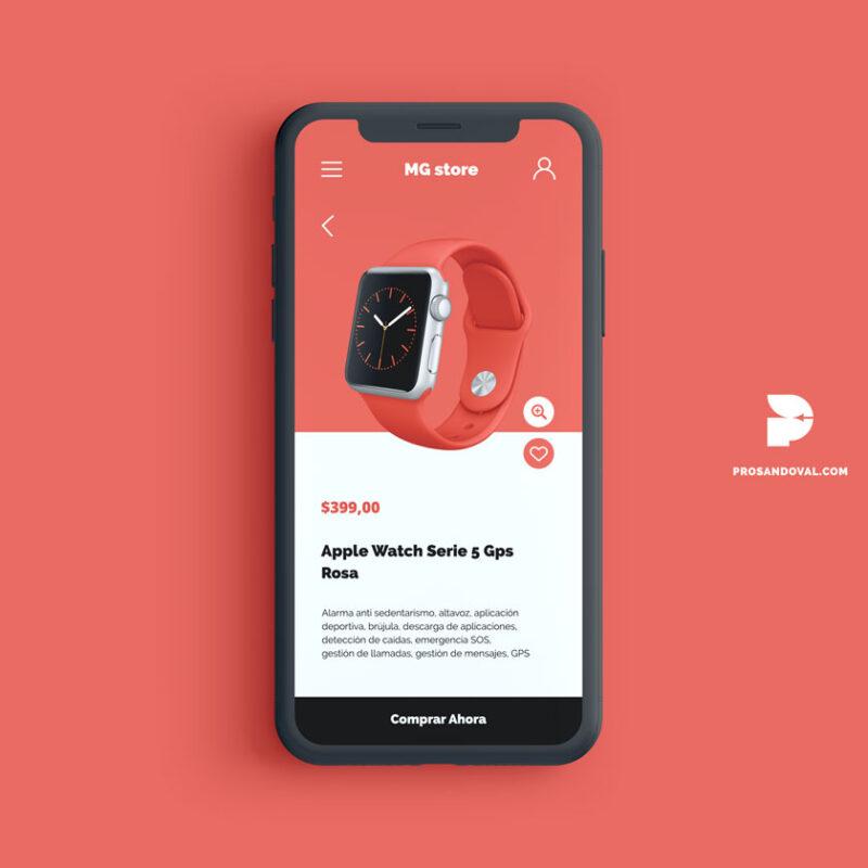 diseño tienda online para smartwatch financiamiento para páginas web
